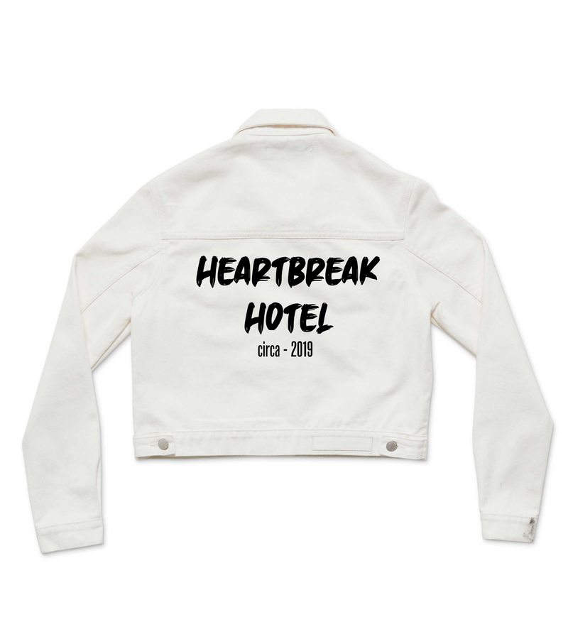 Method of Denim Womens Jackets 'Heartbreak Hotel' Denim Jacket (4602639384662)