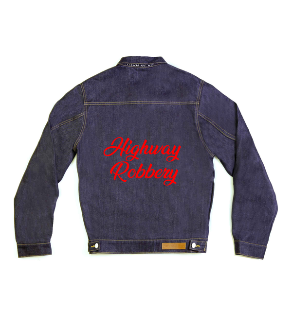 Method of Denim Womens Jackets Highway Robbery Denim Jacket