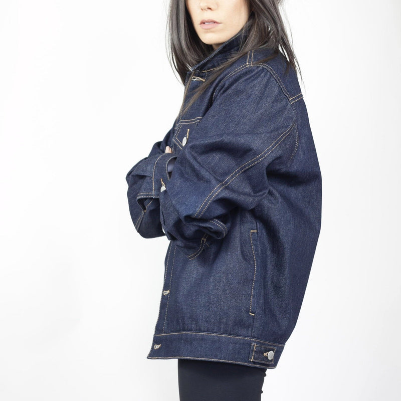 Method of Denim Womens Jackets J Bomb Vintage Denim Jacket - Raw (1381891899478)