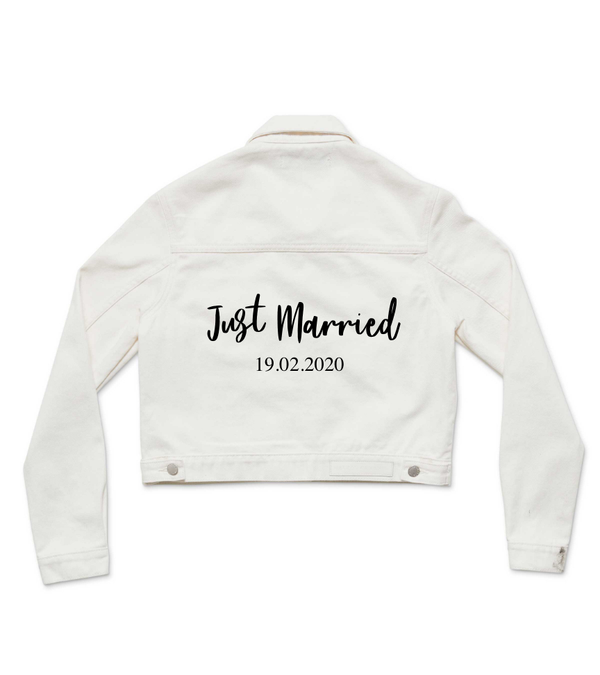 Method of Denim Womens Jackets Just Married (4455161757782)