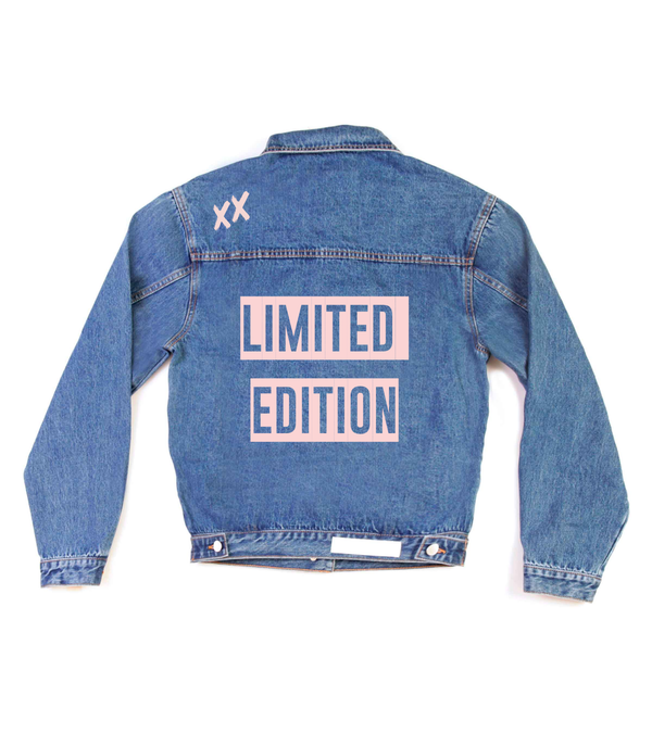 Method of Denim Womens Jackets 'Limited Edition' Denim Jacket (4570060718166)