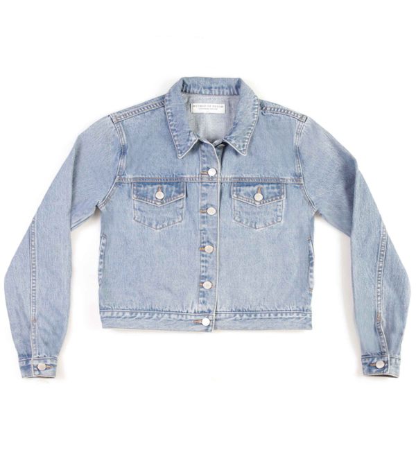 Method of Denim Womens Jackets 'Living For' Denim Jacket (4602404634710)