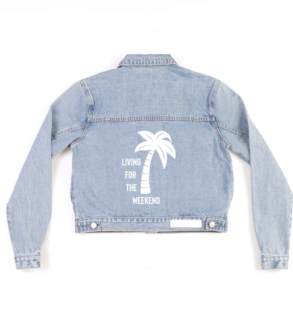 Method of Denim Womens Jackets 'Living For' Denim Jacket