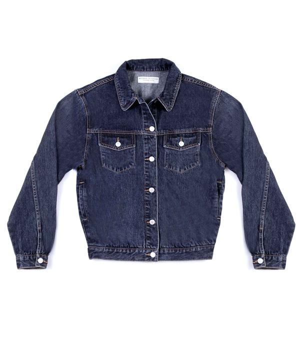 Method of Denim Womens Jackets 'No Bad Days' Denim Jacket (4600773935190)