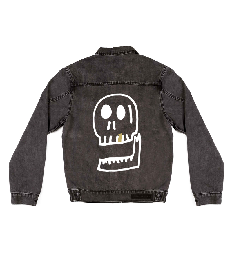 Method of Denim Womens Jackets Pretty Cool Skull Jacket
