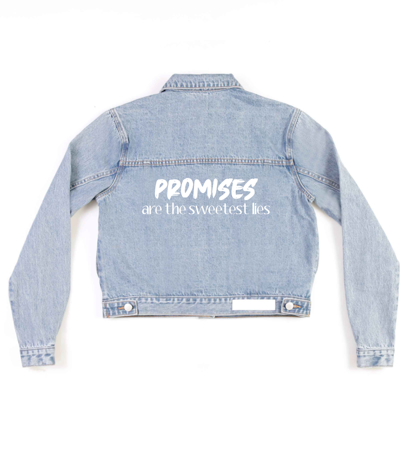 Method of Denim Womens Jackets 'Promises' Denim Jacket (4602463649878)