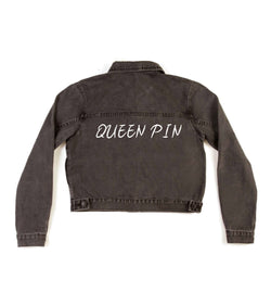 Method of Denim Womens Jackets Queen Pin - Denim Jacket