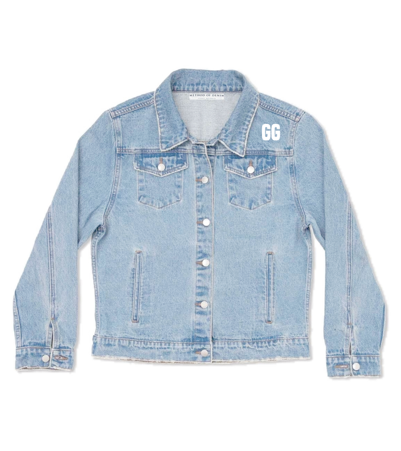 Method of Denim Womens Jackets Support Jacket