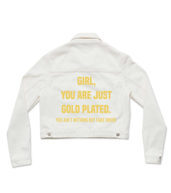 Method of Denim Womens Jackets 'The Gold' Denim Jacket