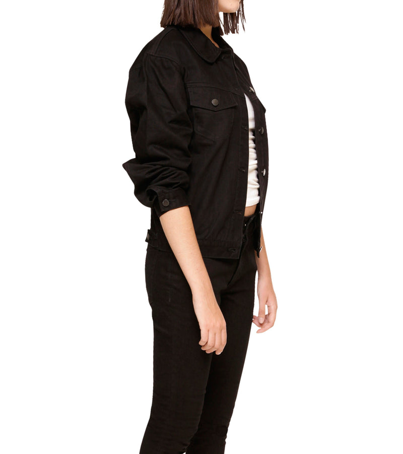 Method of Denim Womens Jackets 'The Mrs.' Denim Jacket (4516062658646)