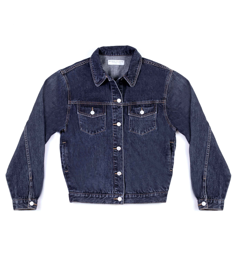 Method of Denim Womens Jackets 'Uncool' Denim Jacket (4600757846102)