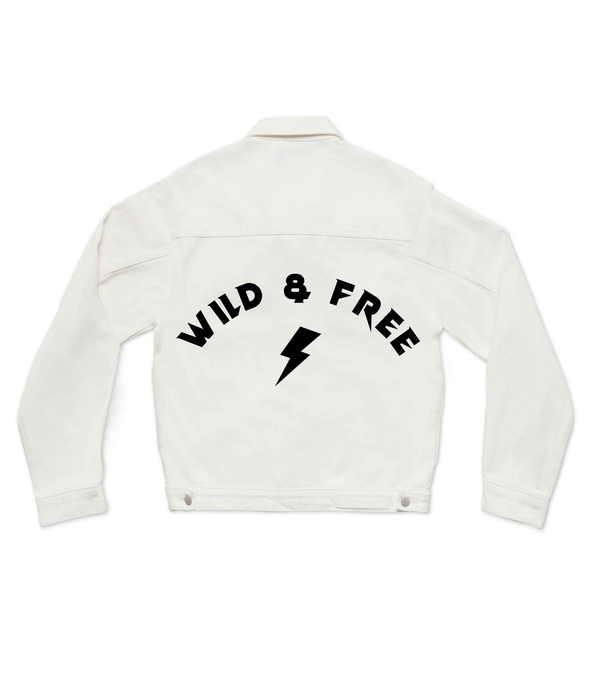 Method of Denim Womens Jackets Wild & Free Jacket