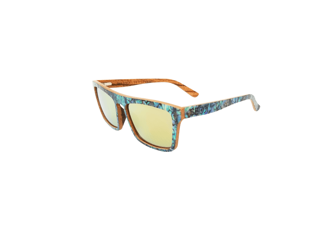 Maris - Sea Shell Sunglasses - Yellow