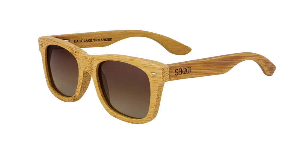 #d1a937 all wood sunglasses