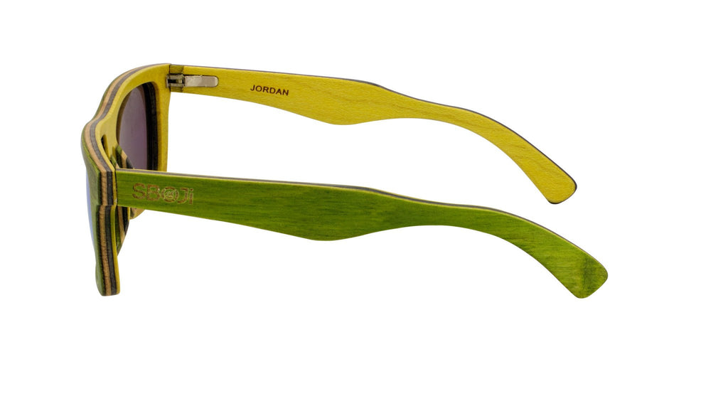 #18ef0f green and yellow sunglasses