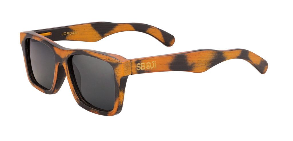 #fb6403 wild wood series floating sunglases