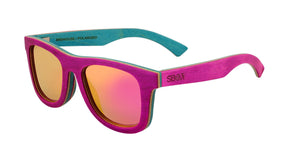 #ff00ff skateboard wood sunglasses pink