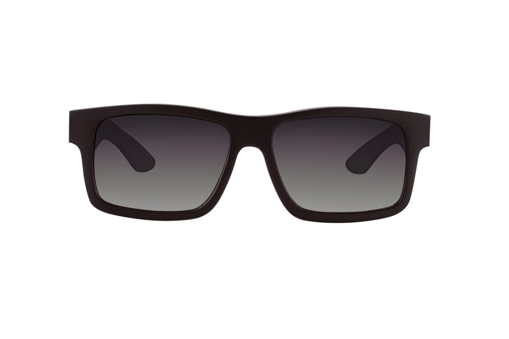 #191919 black floating wood sunglasses