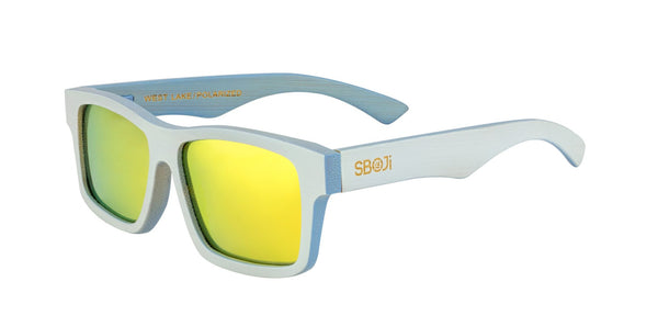#0096ff sboji west lake bamboo sunglasses