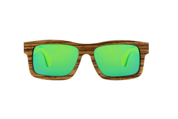 #d1a937 SBOJi - West Lake - wild wood sunglasses