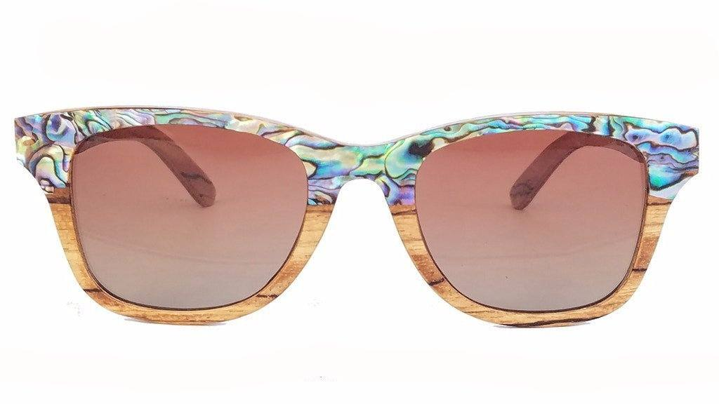 Kai - Sea Shell Sunglasses - Amber