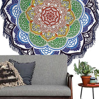 Round Beach Tapestry/Yoga Mat