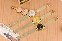 Golden Mesh Stainless Steel Watch - 3 Color Variants