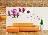 Magnolia Mural Flower Wall Sticker