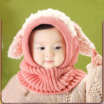 Outdoor Kids Warm Scarf Hat - 5 Color Variations