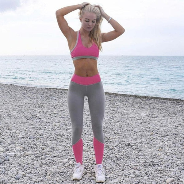 High Waist Yoga Leggings - 2 Color Variations