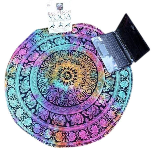 High Quality Circle Yoga Blanket