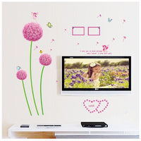 Dandelion Wall Stickers Removable Mural