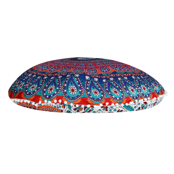 Bohemian Round Pillow Cover