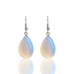 Water Drop Opal Natural Stone Earrings