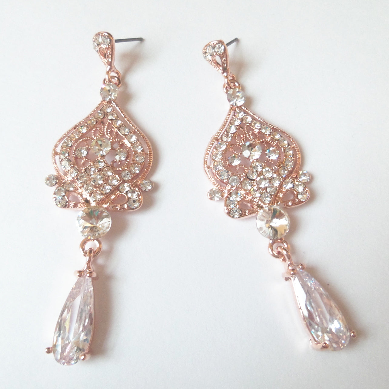 Victorian Chandelier Bridal Earrings
