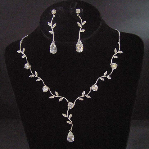 Vines Bridal Necklace Set