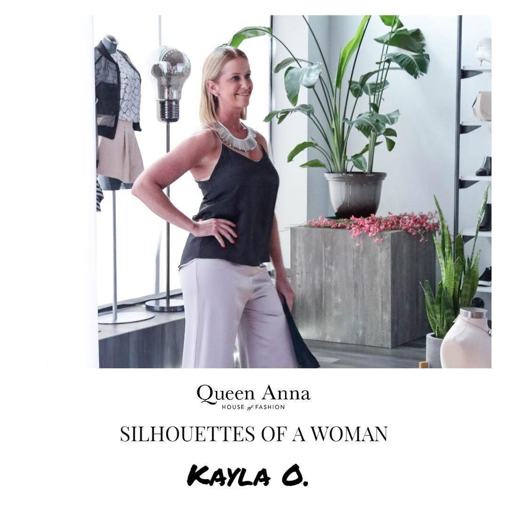 Silhouettes of a Woman: Kayla O.