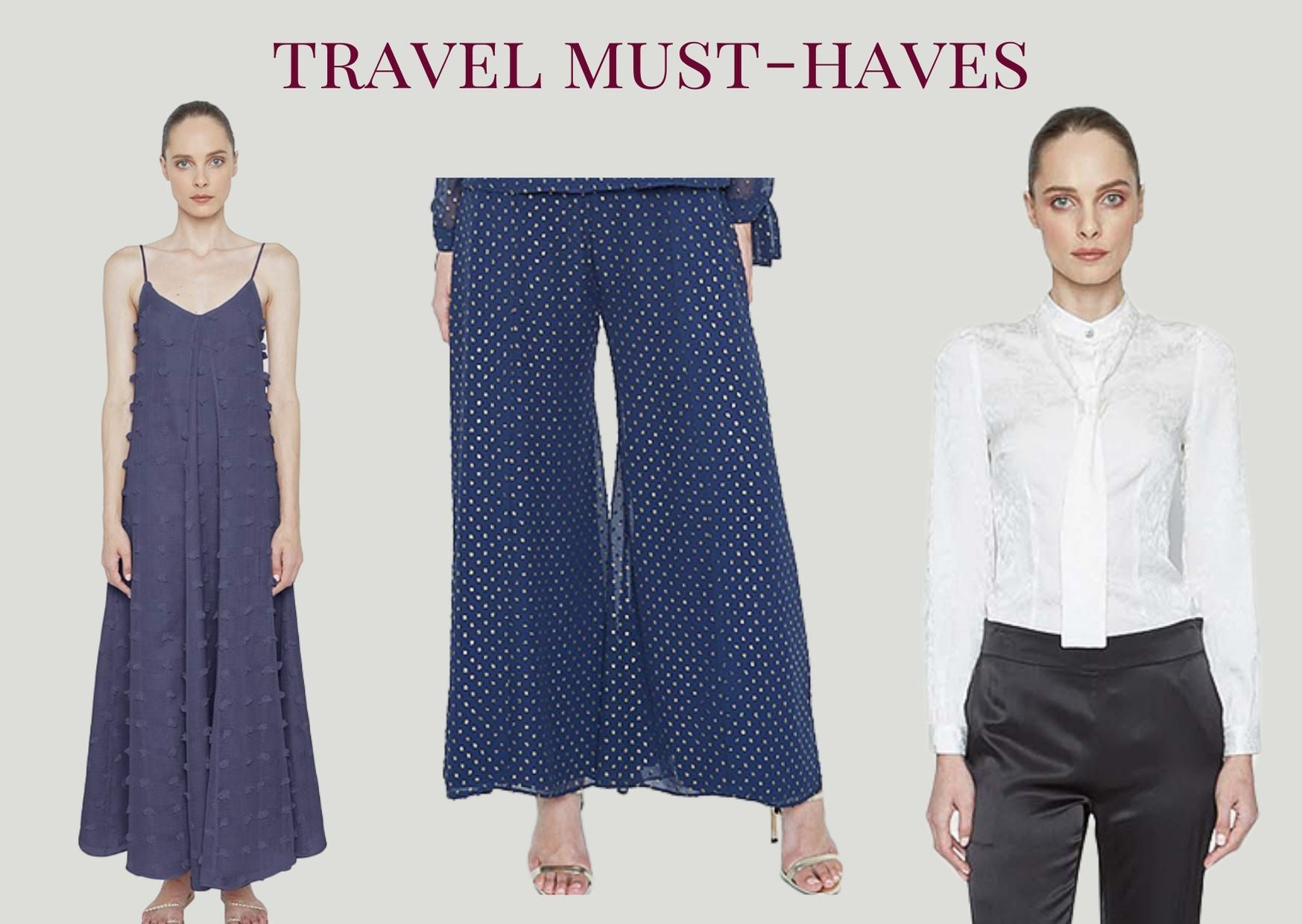 Queen Anna House of Fashion Travel Must-haves Maison de Papillon