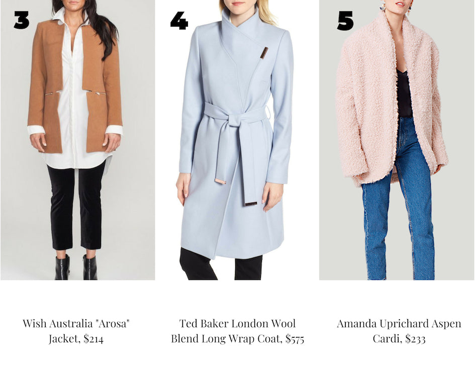 fall and winter seasonal coats