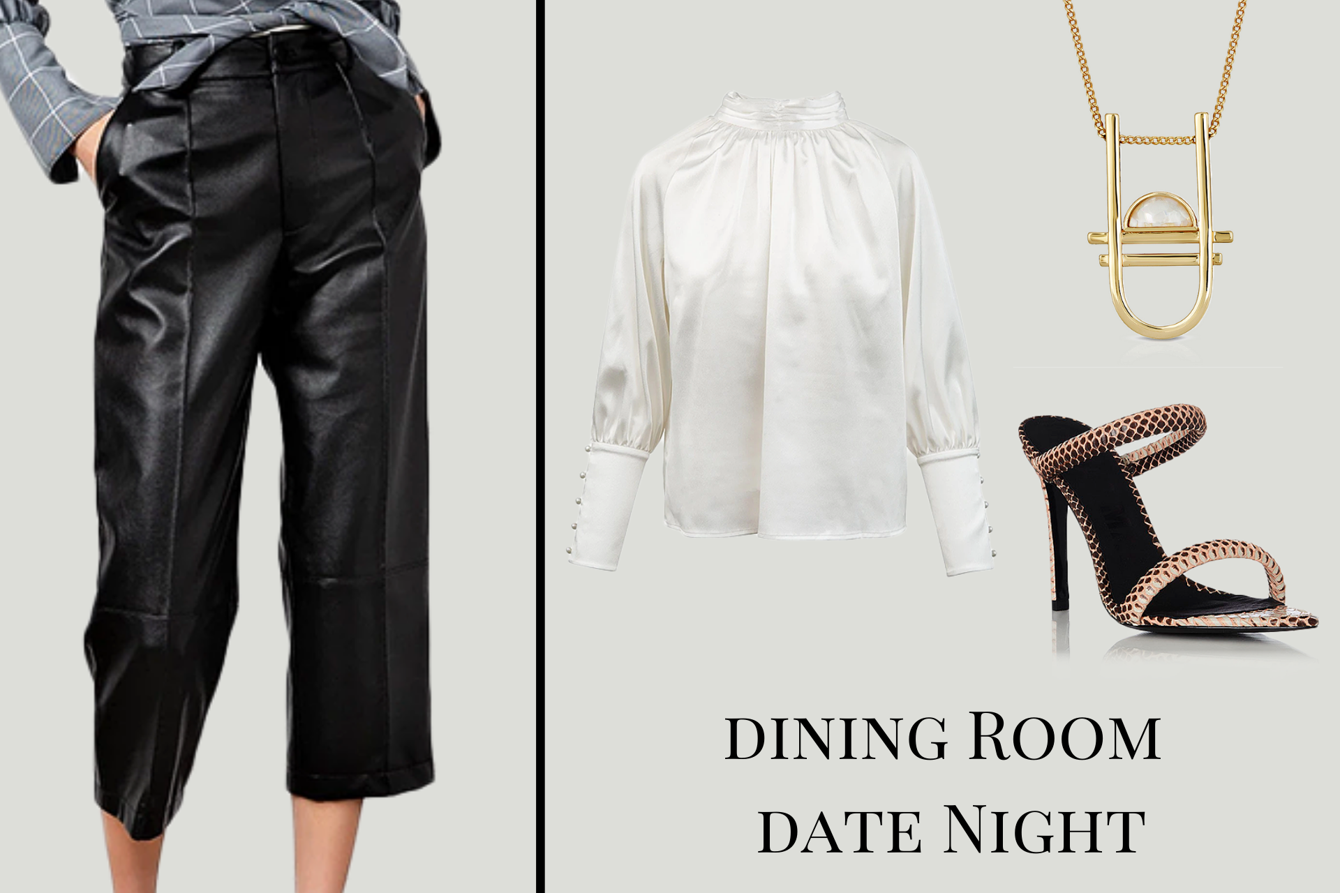 Queen Anna Dining Room Date Night