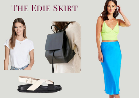 amanda uprichard blue edie skirt