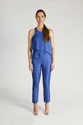 "Ali & Jay Chambray ""Jungle Garden"" Jumpsuit"