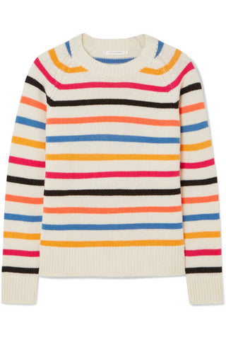 "Chinti and Parker ""Striped Cashmere"" sweater"