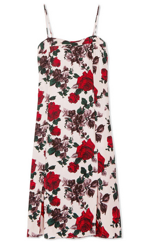 "Equipment ""Kelby"" Floral Midi Dress"