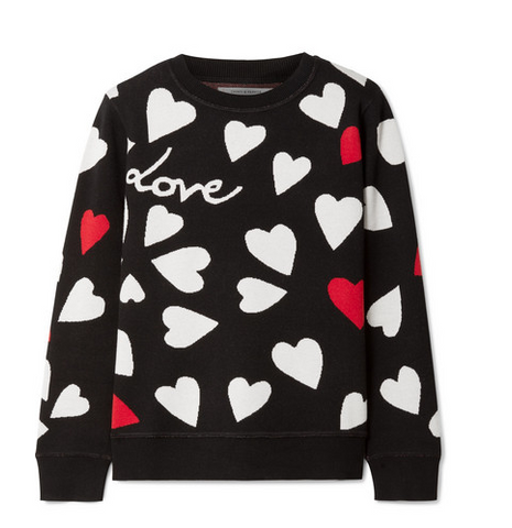 Chinti and Parker Heart Knitted Sweater