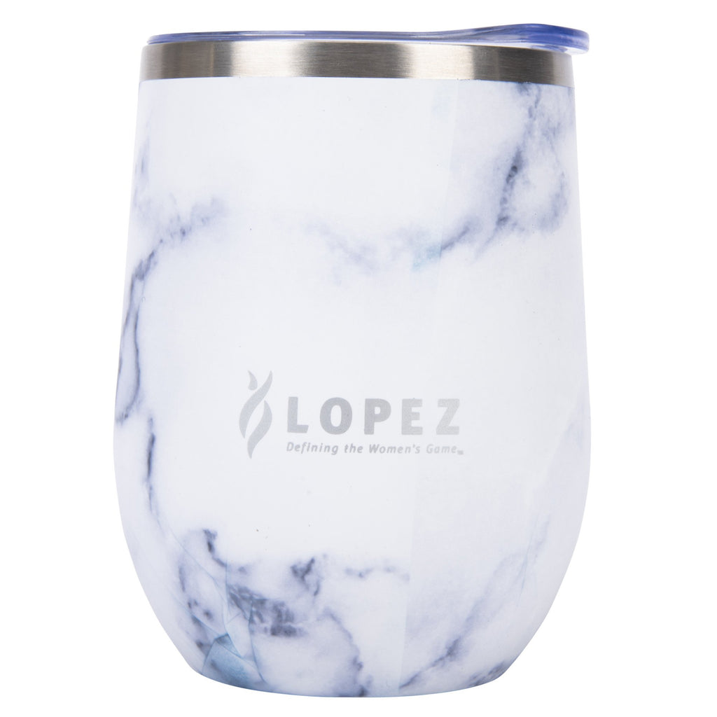 Nancy Lopez Golf Insulated Tumbler Marble