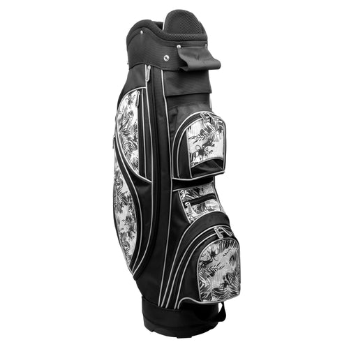 Nancy Lopez Golf Ashley Cart Bag Black Tropic