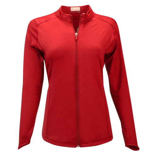 Nancy Lopez Jazzy Jacket Plus Fiery Red