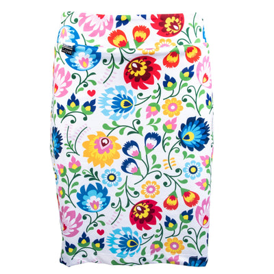 Nancy Lopez Golf Beauty Print Club Skort White Multi