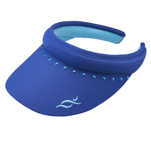 Nancy Lopez Reverse Club Visor Twilight/Aquarius